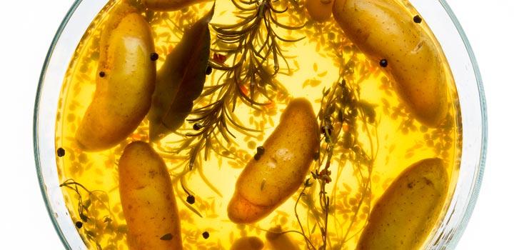 Brined Fingerling Potatoes Recipe