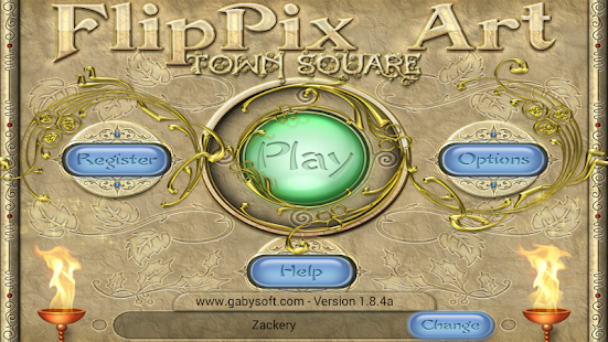 FlipPix Art - Town Square- screenshot thumbnail