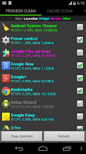 System Cleaner for Android - screenshot thumbnail
