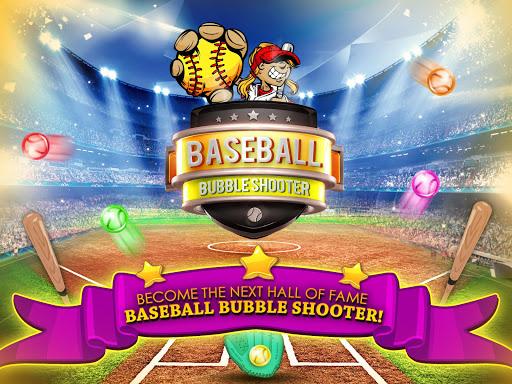 野球のバブルのシューティングゲーム