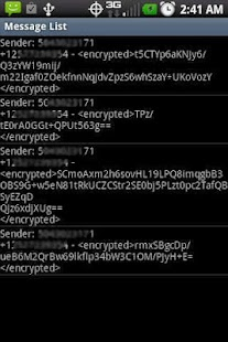SMS Encrypto - screenshot thumbnail