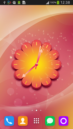 Sexy Clock Live Wallpaper