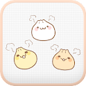 Yummy(Dumpling) go sms theme icon