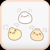 Yummy(Dumpling) go sms theme