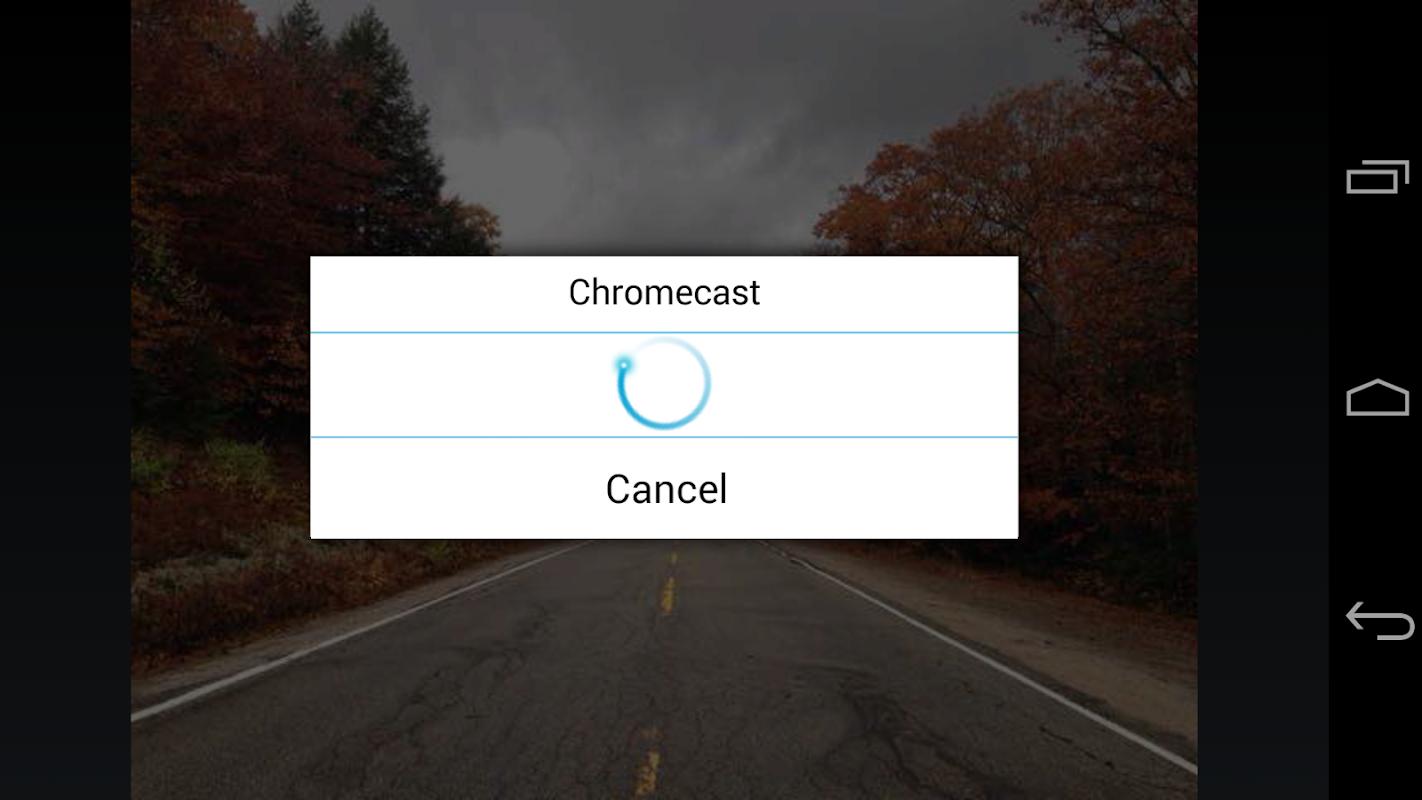 ES Chromecast plugin screenshots