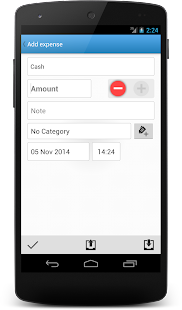 CashFlow Free Expense manager- screenshot thumbnail