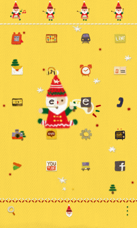 SantaBand dodol launcher theme - screenshot