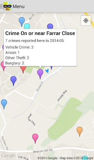 UK Police Crime Map