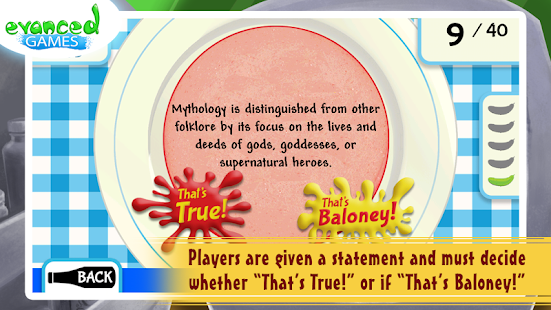 That's Baloney! Kids Quiz Game- screenshot thumbnail