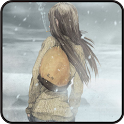 Winter Girl LiveWallpaper Free icon