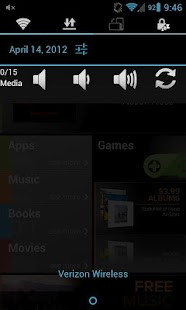Status Bar Volume Panel Plus - screenshot thumbnail