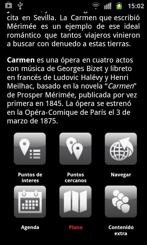 Sevilla Ciudad de Ópera- screenshot