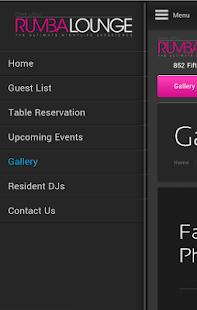 Rumba Lounge - screenshot thumbnail