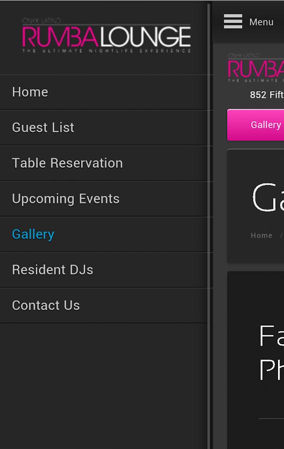 Rumba Lounge - screenshot
