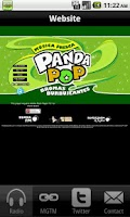 Screenshot of Panda Pop Radio