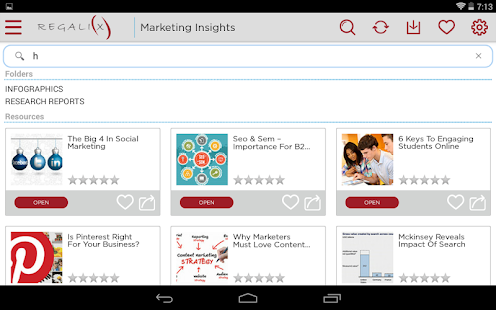 REGALIX MARKETING INSIGHTS- screenshot thumbnail