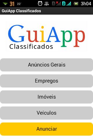 GuiApp Classificados