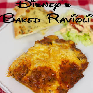Disney's Baked Ravioli.