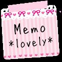 メモ帳ウィジェット *lovely* icon