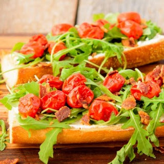 BLT Goat Cheese French Bread.