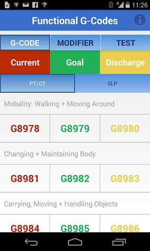 Functional G-Codes PT OT SLP