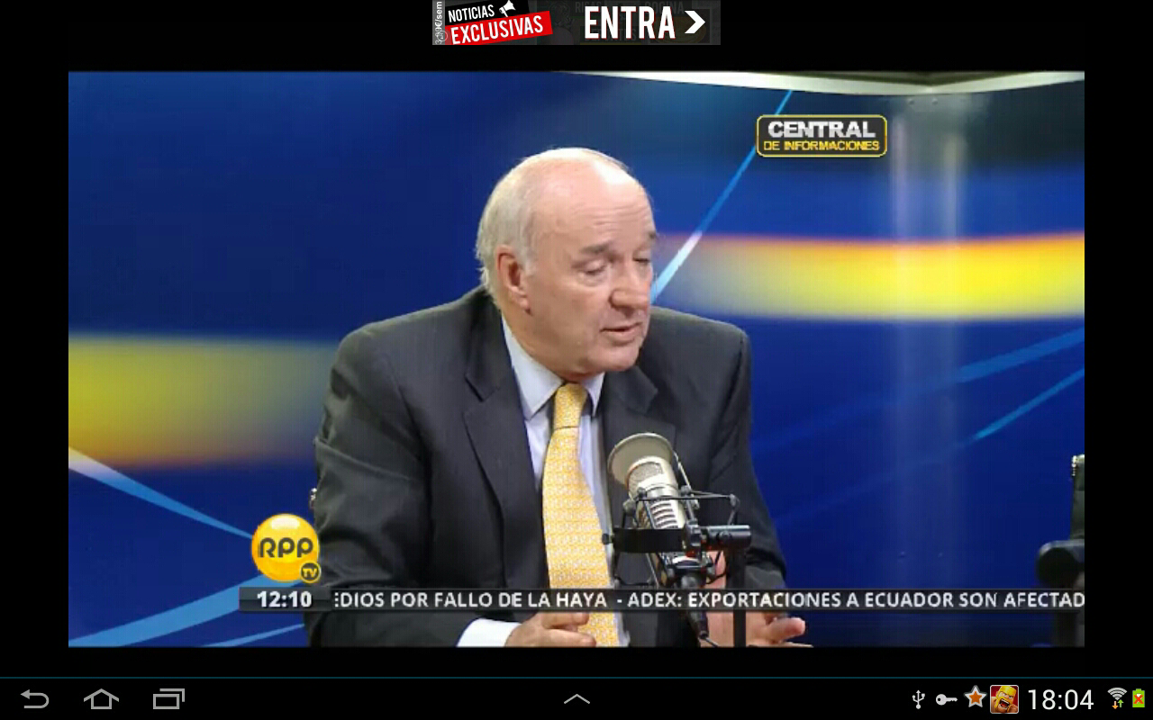 TV Peru Online - screenshot