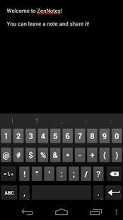 ZenNotes – Miniaturansicht des Screenshots