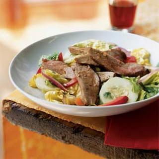 Thai Roast Duck Salad.