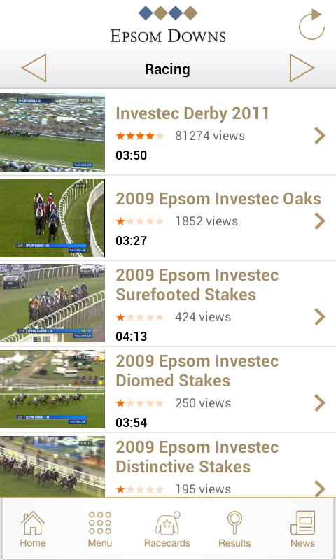 Epsom Downs Racecourse - screenshot