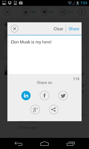 LinkedIn Pulse (Legacy) screenshot for Android