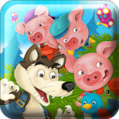Three Pigs Jigsaw Puzzle Game