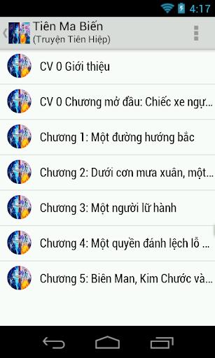 Tiên Ma Biến - Tien hiep