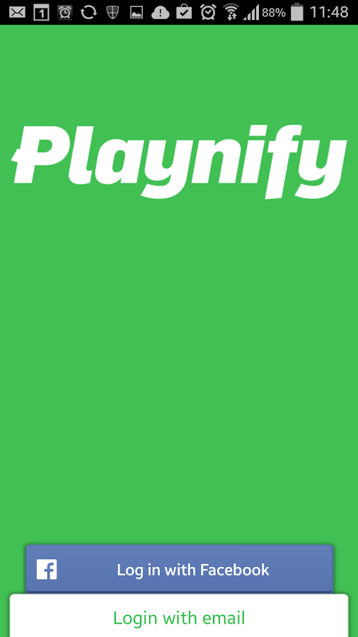 Playnify- screenshot