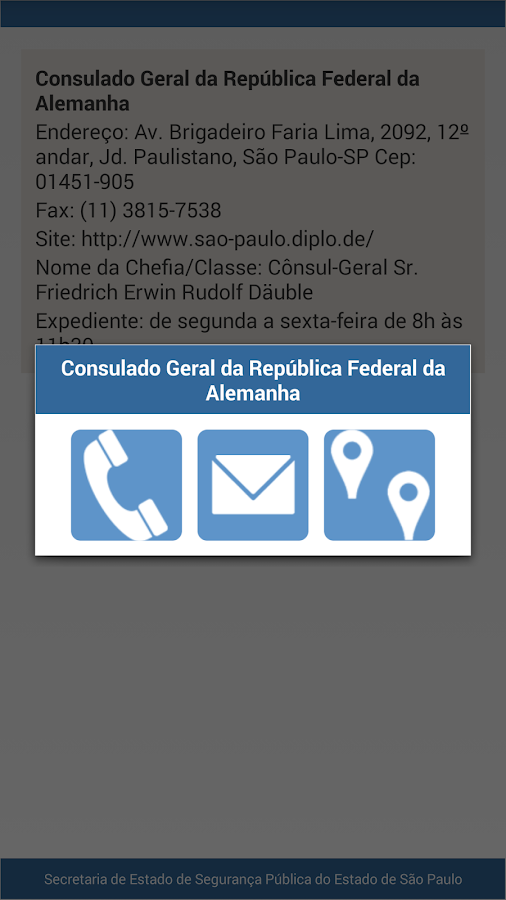 Unidades Consulares- screenshot