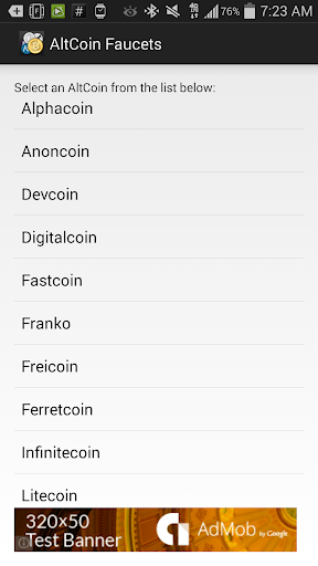 Altcoin Faucets