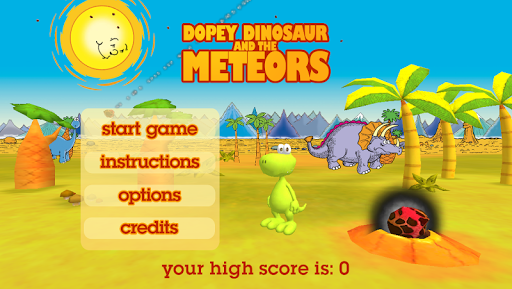 Dopey Dinosaur and the Meteors  screenshots 1