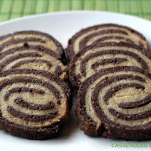 Cocoa Tonka Bean Spirals