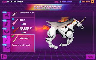 Screenshot of Robot Unicorn Attack 2
