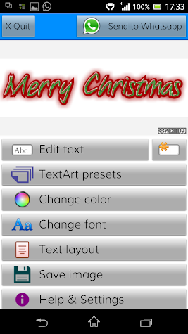 TextArt ★ Cool Text creator Screenshot
