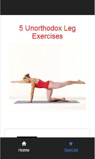 5 Unorthodox Leg Exercises