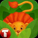 Animals for Kids: safari zoo icon