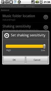 Apexony MusicShaker - screenshot thumbnail