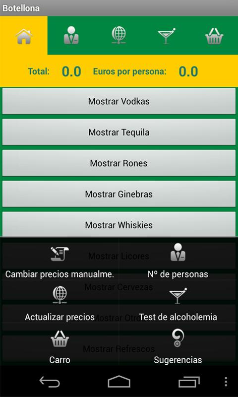 Botellona - screenshot