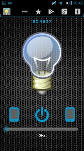 LEDトーチ懐中電灯+ウィジェット