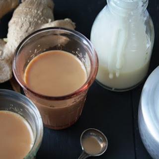 Masala Chai Toddy – Spiced Indian tea with condensed milk & dark rum.