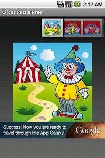 Circus Puzzle Free- screenshot thumbnail
