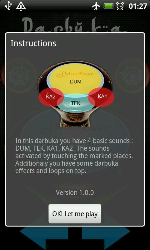 Finger Darbuka Free - screenshot