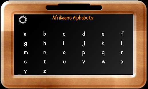 Baby Slate - Afrikaans - screenshot thumbnail