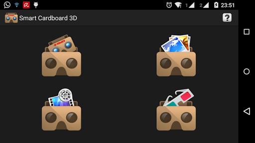 VR 3D Smart Cardboard