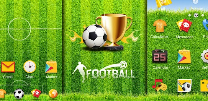 Football GO LauncherEX Theme 1.1 Apk